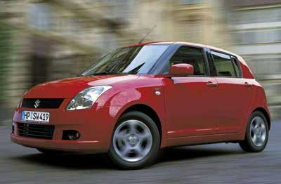 В фокусе Suzuki Swift